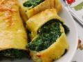 Rotolo di spinaci e mozzarella