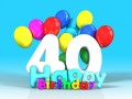 Frasi di auguri di compleanno per i 40 anni