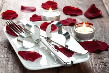 Apparecchiare la tavola per san valentino - Idee tavola san valentino ...