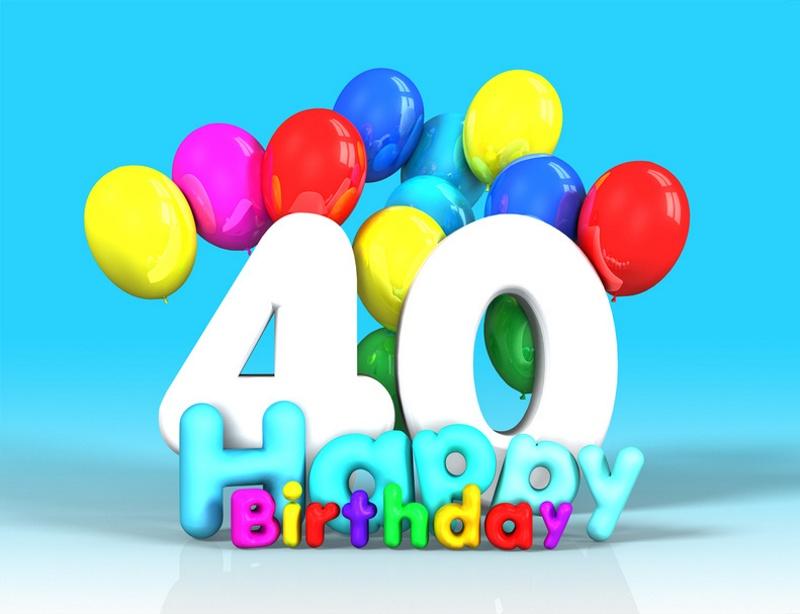 Super Frasi di auguri di compleanno per i 40 anni PP76