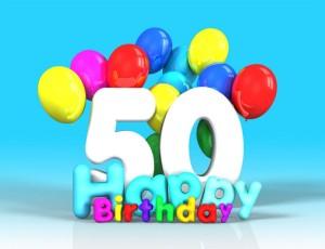 cinquanta anni - compleanno