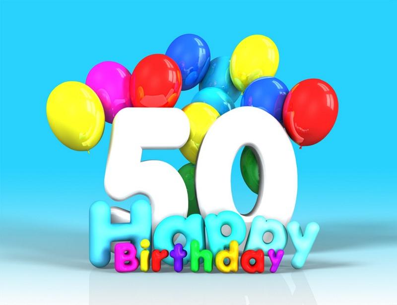 Auguri Di Compleanno Per I 50 Anni