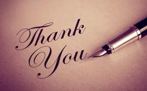 Ringraziare per gli auguri